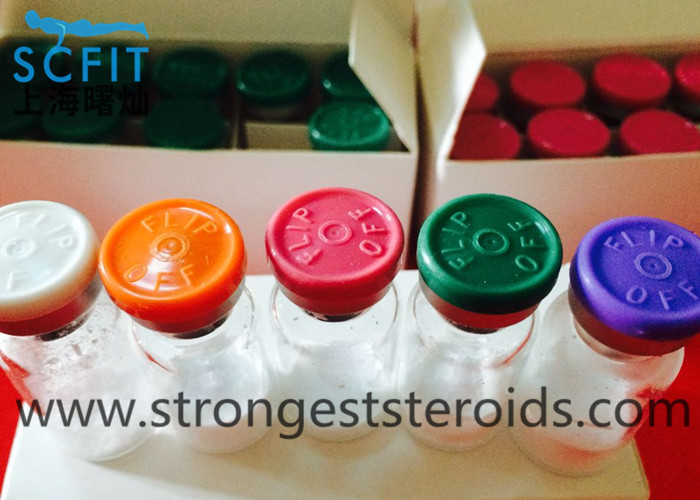 99.5% 2mg / Vial Human Growth Peptide Without DAC GHRH CAS 51753-57-2 Polypeptide Hormones For Losing Fat